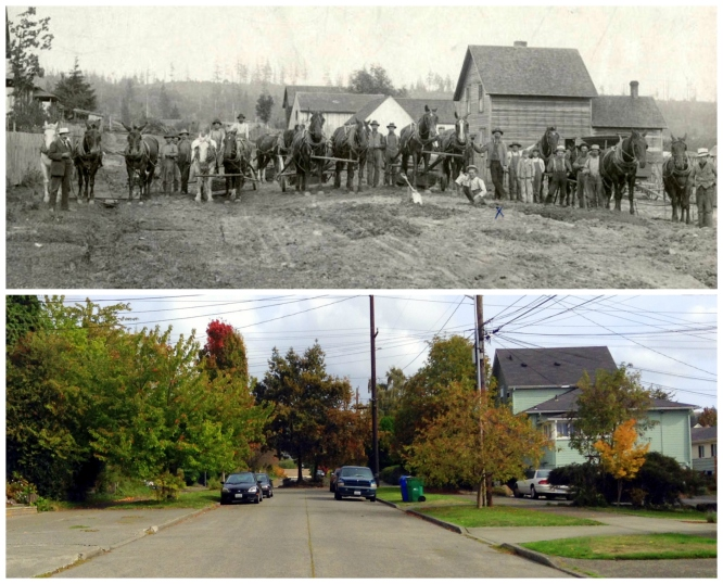 Then & Now - 9th and 57th