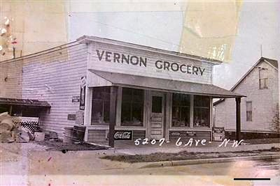 Vernon Grocery 1909