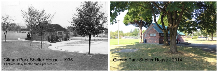 Then & Now - Gilman Park House - 1935