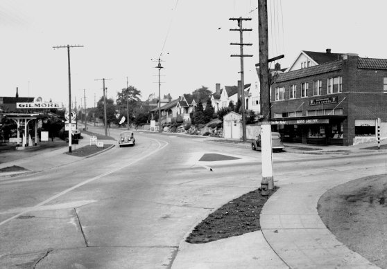 Looking North - 3rd and 65th - THEN March 1944