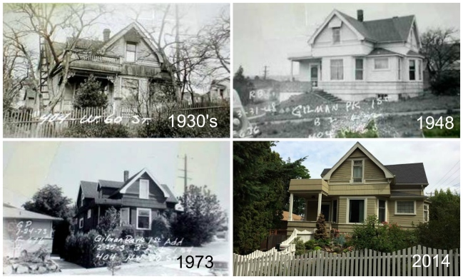 Then and Now - 404 NW 60th - 4 photo