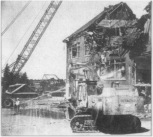 West Woodland Demolition - 1991