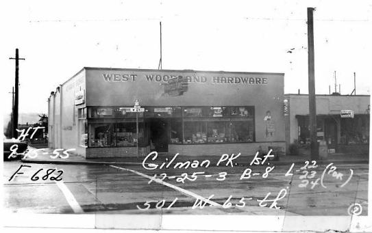 Woo property - 1955 - Then