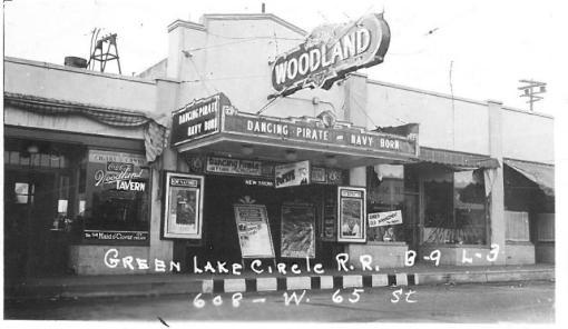 Woodland Theater - 1937