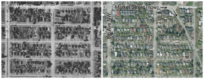 The & Now - Market Street widening II