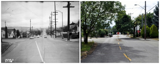 Then and Now - Market and 55th short