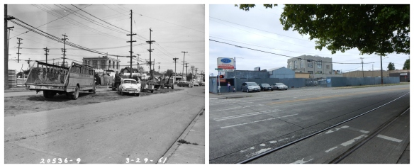 14th Ave NW and Leary - 1961 and 2016