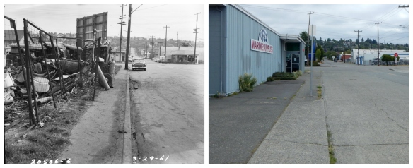 NW 47th and Leary - 1961 and 2016