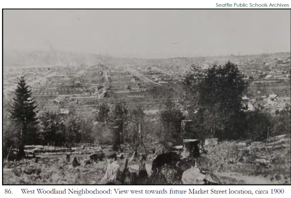 West Woodland Neighborhood circa 1900